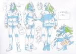 Danganronpa 3 - Character Profiles - Great Gozu (Sketches)