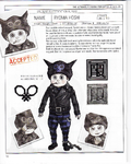 Danganronpa V3 - Day One Dossier Art Booklet - Ryoma Hoshi