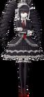 Danganronpa 1 Celestia Ludenberg Fullbody Sprite (PSP) (15)