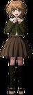 Danganronpa 1 Chihiro Fujisaki Fullbody Sprite (PSP) (15)