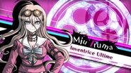 Danganronpa V3 Miu Iruma Introduction (French)