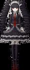 Danganronpa 1 Celestia Ludenberg Fullbody Sprite (PSP) (1)