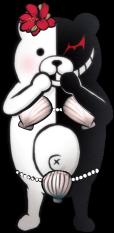 Danganronpa 2 Hidden Monokuma Fullbody Sprite (PSP) (1)