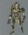 Danganronpa Another Episode Beta Design Sage Robot Hannibal X (1)
