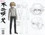 Danganronpa Another Episode Design Profile Taichi Fujisaki