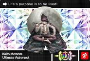 Danganronpa V3 Bonus Mode Card Kaito Momota U ENG