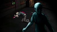 Danganronpa V3 CG - Rantaro Amami's true corpse (2)