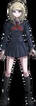 Danganronpa V3 Kaede Akamatsu Fullbody Sprite (High School Uniform) (1)