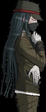 Danganronpa V3 Korekiyo Shinguji Halfbody Sprite (Debate Scrum) (2)