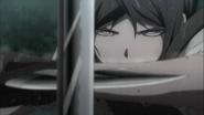 Despair Arc Episode 8 - Mukuro's deadly stare