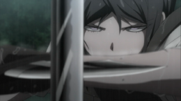 Despair Arc Episode 8 - Mukuro's deadly stare