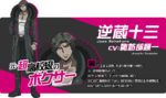 Promo Profiles - Danganronpa 3 Future Arc (Japanese) - Juzo Sakakura