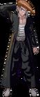 Danganronpa 1 Mondo Owada Fullbody Sprite (PSP) (14)