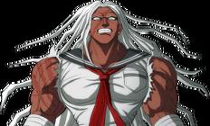 Danganronpa 1 Sakura Ogami Halfbody Sprite (PSP) (2)