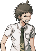 Danganronpa 2 Hajime Hinata Halfbody Sprite (PSP) (13)
