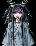 Ibuki Mioda Halfbody Sprite (PSP) (Hospital Gown) (1)