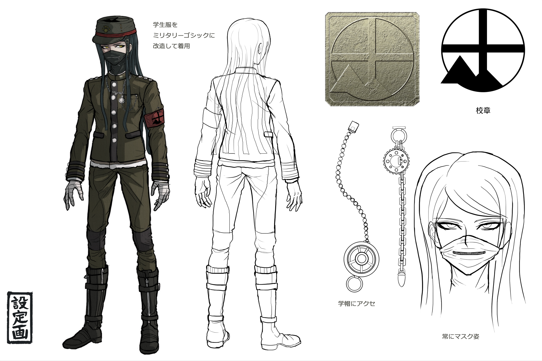 Korekiyo Is A Tall Slim Student With Rather Pale Skin And Long Black Hair His Stated To Follow An Archaic Image Of Beauty It Puts Female