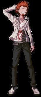 Danganronpa 1 Leon Kuwata Fullbody Sprite (PSP) (3)