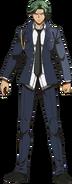 Danganronpa 3 - Fullbody Profile - Juzo Sakakura (Despair)