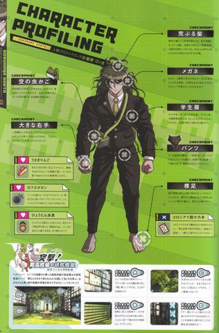 File:Art Book Scan Danganronpa V3 Gonta Gokuhara Character Profiling.png