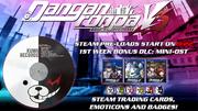 Danganronpa V3 Steam release Pre-order Bonus