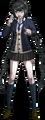 Danganronpa V3 Tenko Chabashira Fullbody Sprite (High School Uniform) (4)