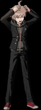 File:Danganronpa 1 Makoto Naegi Sprite (PSP) 07.png