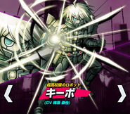 K1-B0 Keebo Kiibo Ki-Bo Danganronpa V3 Official Japanese Website Profile (Mobile)