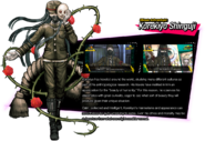 Korekiyo Shinguji Danganronpa V3 Official English Website Profile