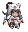 Sengoku Asuka Zero x Danganronpa 3 Aoi Asahina Sprite
