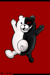 Danganronpa 1 Fullbody Profile Monokuma