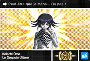 Danganronpa V3 Bonus Mode Card Kokichi Oma S FR