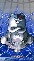 Digital MonoMono Machine Monokuma iPhone wallpaper