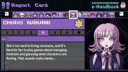 Chiaki Nanami's Report Card Page 4