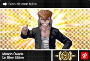 Danganronpa V3 Bonus Mode Card Mondo Owada S FR