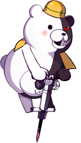 File:Girls Gun 2 x Danganronpa Construction Monokuma Familiar.png