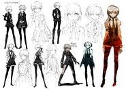 Kyoko Kirigiri Beta Designs 1.2 Reload Artbook