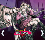 Miu Iruma Danganronpa V3 Official English Website Profile (Mobile)