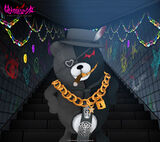 Monokuma Factory Wallpapers Set 3D Kurokuma 960 x 854