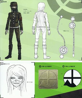 File:Art Book Scan Danganronpa V3 Korekiyo Shinguji Designs.png