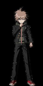 Makoto Naegi Fullbody Sprite 11