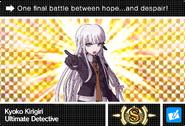 Danganronpa V3 Bonus Mode Card Kyoko Kirigiri S ENG
