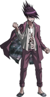 Danganronpa V3 Kaito Momota Fullbody Sprite (18)