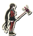 Danganronpa V3 Maki Harukawa Death Road of Despair Sprite (Hammer) 02