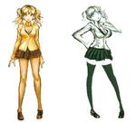 Junko Enoshima Beta Designs Visual Fanbook