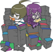 Danganronpa Another Episode Toko Fukawa Komaru Naegi Chibi Books 01