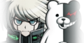 Danganronpa V3 K1-B0 with Monokuma Log Mugshot