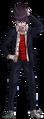 Danganronpa V3 Kaito Momota Fullbody Sprite (High School Uniform) (3)