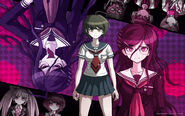 Digital MonoMono Machine Danganronpa Another Episode Cast PC wallpaper
