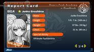 Junko Enoshima's Report Card (Deceased)